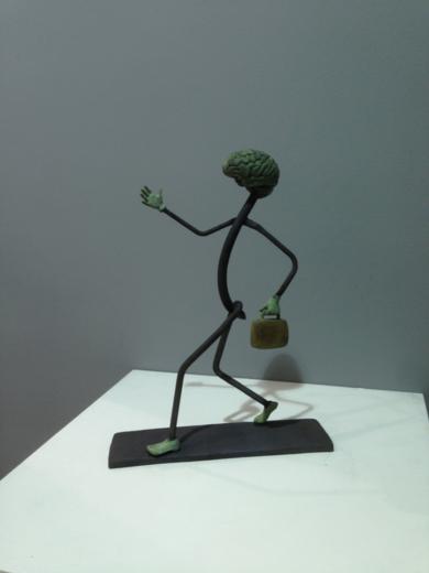 Cerebro Andante|EsculturadeCristóbal| Compra arte en Flecha.es