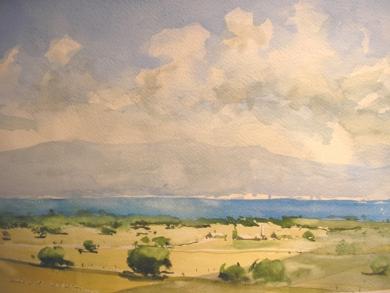 Bahia de Pollensa|PinturadeIñigo Lizarraga| Compra arte en Flecha.es