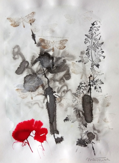 Tintas de Otoño nº1|DibujodeMartmina| Compra arte en Flecha.es