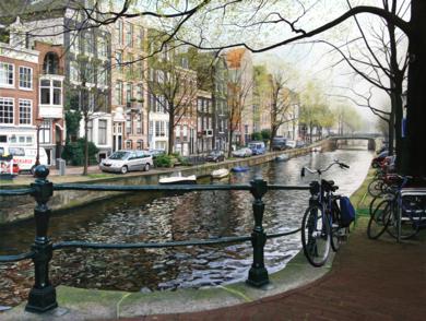 Ámsterdam|PinturadeJavier Ramos Julián| Compra arte en Flecha.es