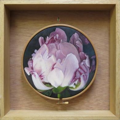 Flores Habitadas III PinturadeCarmen Varela  Compra arte en Flecha.es