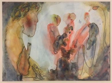 La Tercera Vez|DibujodeJaelius Aguirre| Compra arte en Flecha.es