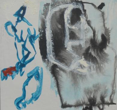 El Señor y la Señora Andrews (cartón IX)|PinturadeCelia Muñoz| Compra arte en Flecha.es