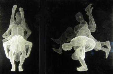 Muybridge  - Pirueta|DibujodeDavid Ortega| Compra arte en Flecha.es
