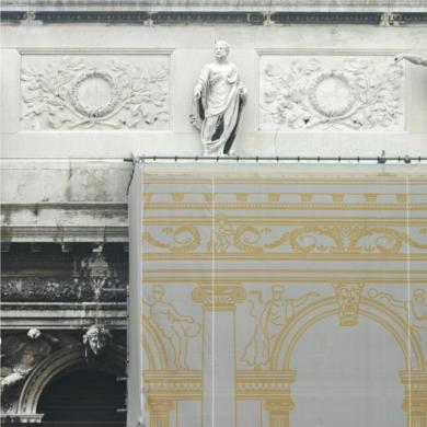Andamios y Fachadas III|FotografíadeMaría Jesús Velasco| Compra arte en Flecha.es