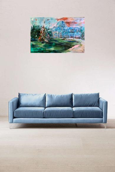 Palacio  Crystal|PinturadeLika| Compra arte en Flecha.es