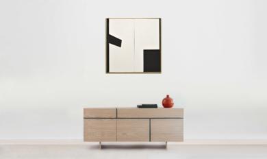 Móvil interactivo 0067 posición A|Escultura de pareddeManuel Izquierdo| Compra arte en Flecha.es