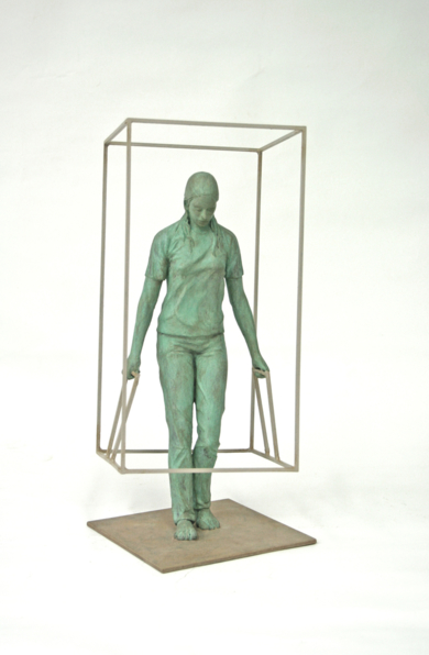 Existo como Pienso VI|EsculturadeMarta Sánchez Luengo| Compra arte en Flecha.es