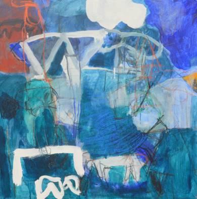 Tarde de Julio (El señor y la señora Andrews)|PinturadeCelia Muñoz| Compra arte en Flecha.es