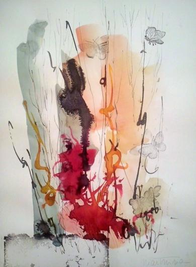 Tintas de Otoño nº3|DibujodeMartmina| Compra arte en Flecha.es
