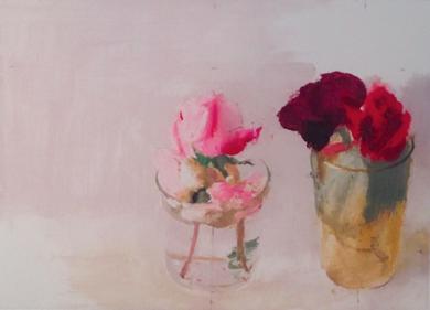 Rosas de Invierno I|Obra gráficadeAntonio López| Compra arte en Flecha.es