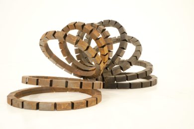 Slinky|EsculturadeCarlos I.Faura| Compra arte en Flecha.es