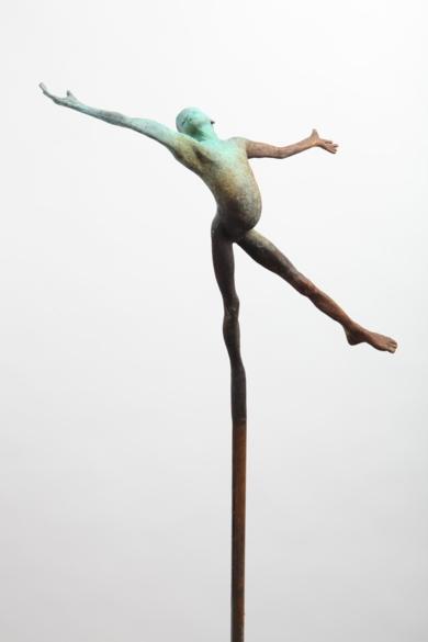 Juego III/1|EsculturadeJesús Curiá| Compra arte en Flecha.es