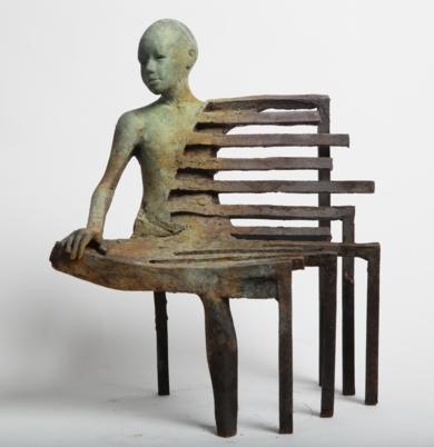 Bench I.|EsculturadeJesús Curiá| Compra arte en Flecha.es