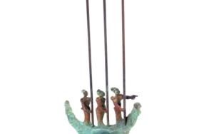 EMBARCACIÓN RITUAL  III|EsculturadeJavier Rodanés| Compra arte en Flecha.es