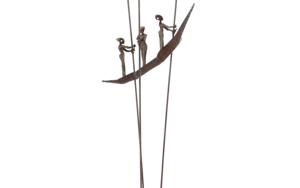 EMBARCACIÓN HIERRO|EsculturadeJavier Rodanés| Compra arte en Flecha.es