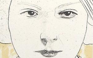 Retrato III|Obra gráficadeEnrique González (TDP)| Compra arte en Flecha.es