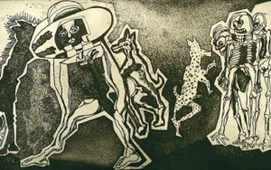 Teradispa|Obra gráficadeJulio Zachrisson| Compra arte en Flecha.es