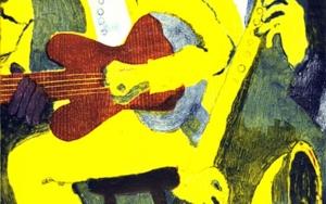 Jazz dueto IV Obra gráficadeJenifer Elisabeth Carey  Compra arte en Flecha.es
