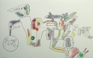 Sin título|Obra gráficadeJorge Castillo| Compra arte en Flecha.es