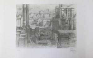 Foro di Cesari|Obra gráficadeLuis Javier Gayá| Compra arte en Flecha.es