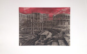 Stadi dei Marmi|Obra gráficadeLuis Javier Gayá| Compra arte en Flecha.es