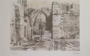 Monasterio de San Pelayo (III)|Obra gráficadeLuis Javier Gayá| Compra arte en Flecha.es