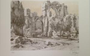 Monasterio de San Pelayo (VI)|Obra gráficadeLuis Javier Gayá| Compra arte en Flecha.es