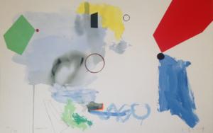 Carmín|Obra gráficadeJoaquín Capa| Compra arte en Flecha.es