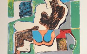 Mujer Sentada (1)|Obra gráficadeManuel Oyonarte| Compra arte en Flecha.es
