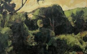 Pinos del Saler|PinturadeJorge Pedraza| Compra arte en Flecha.es
