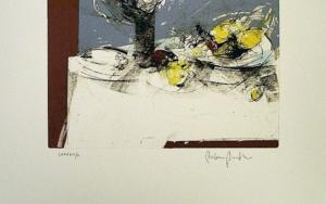 Bodegón|Obra gráficadeFrancisco Molina| Compra arte en Flecha.es