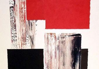 Sin título|CollagedeRafael Canogar| Compra arte en Flecha.es