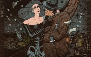 Bailando con la muerte|Obra gráficadeFernando Bellver| Compra arte en Flecha.es