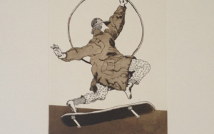 Saltando la Crisis|Obra gráficadeManuel Alcorlo| Compra arte en Flecha.es