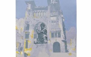 Vía Laietana (versión 1)|Obra gráficadeJorge Castillo| Compra arte en Flecha.es