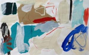 Tocado azul|PinturadeEduardo Vega de Seoane| Compra arte en Flecha.es