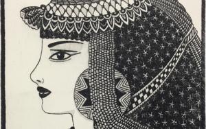 Serie: Diosas de la ópera: Aída b/n|Obra gráficadeFernando Bellver| Compra arte en Flecha.es