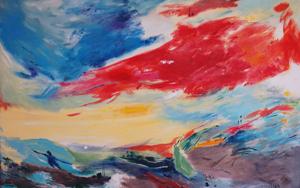 Mar Egeo|PinturadeLika| Compra arte en Flecha.es