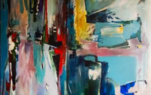 Atardecer|PinturadeLika| Compra arte en Flecha.es