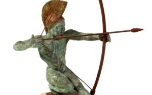 ARQUERO|EsculturadeJavier Rodanés| Compra arte en Flecha.es