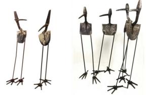 LA CONFERENCE DES OISEAUX|EsculturadeGerardo de Pablo| Compra arte en Flecha.es