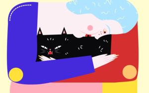 hug|DibujodeAlba Blázquez| Compra arte en Flecha.es