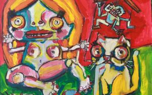 toy dolls|PinturadeVeo blasco| Compra arte en Flecha.es