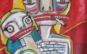 Madre coraje|PinturadeVeo blasco| Compra arte en Flecha.es