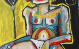 El boxeador|PinturadeVeo blasco| Compra arte en Flecha.es