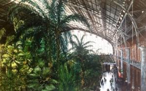 Estación de Atocha, Madrid|PinturadePedro Higueras| Compra arte en Flecha.es