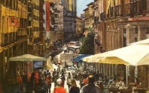 calle de Toledo, Madrid|PinturadePedro Higueras| Compra arte en Flecha.es