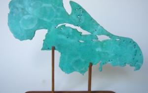 Golfo de Méjico y Mar Caribe IX|EsculturadeJaelius Aguirre| Compra arte en Flecha.es