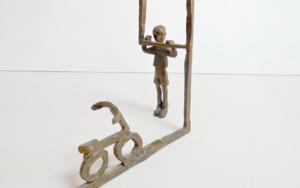 Desear una bicicleta|EsculturadeAna Valenciano| Compra arte en Flecha.es